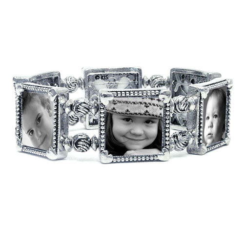 Diy Photo Bracelet Holds 6 Pictures Memory Maker Photo Jewelry