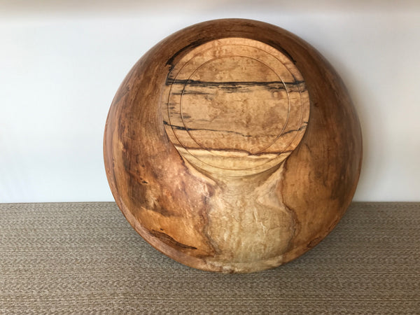 Ambrosia Maple Bowl with Pedestal Foot