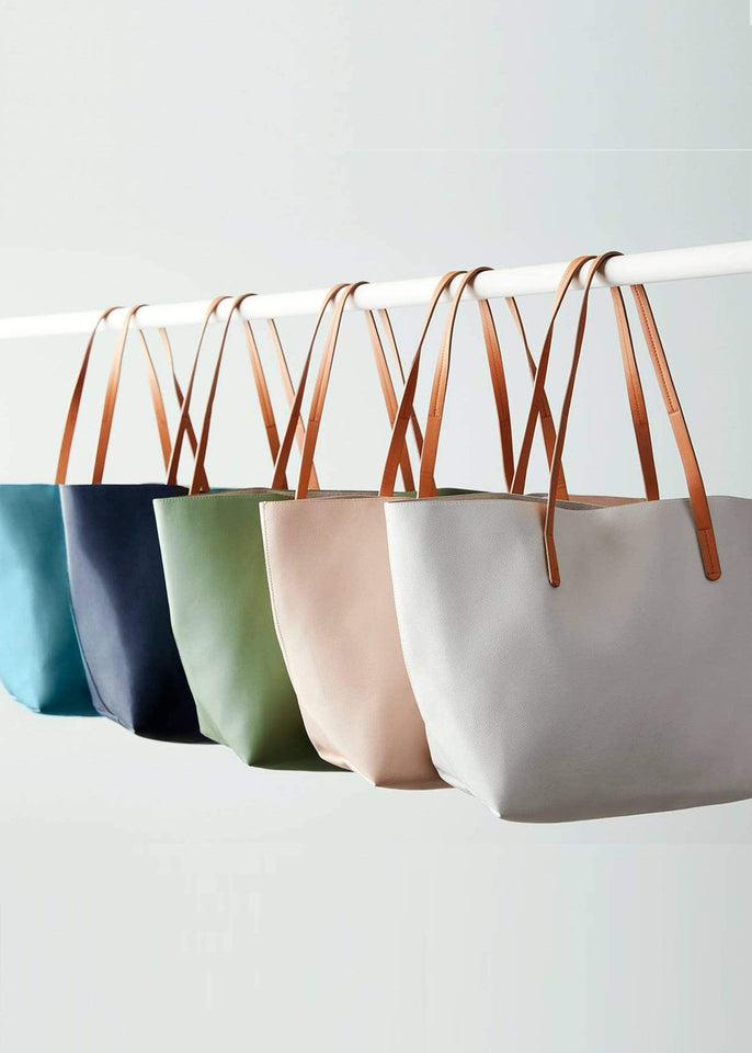 Boon Supply Bags Vegan Leather Carryall Tote