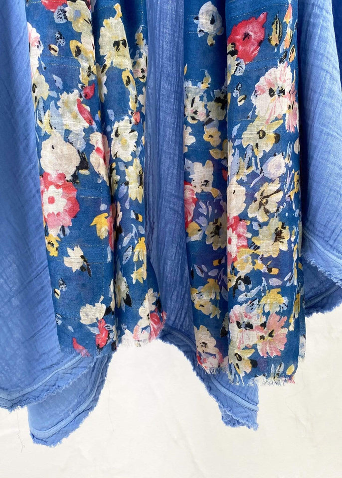Contempo Scarf May Flowers Oblong Scarf