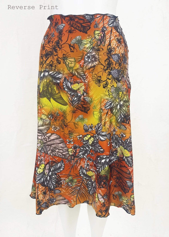 Haystacks Serpent Switchstacks Reversible Long Bias Skirt