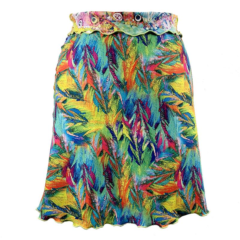 Haystacks skirt Butterfly Switchstacks Reversible Bias Skirt