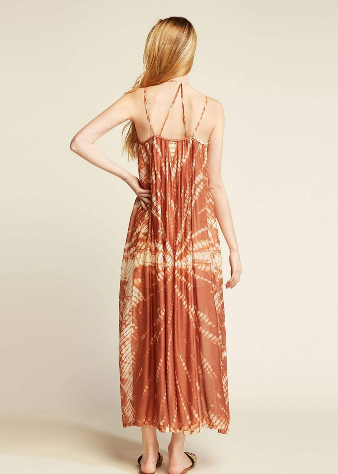 Look by M Dress Indi Pink Tie Dye Maxi Dress