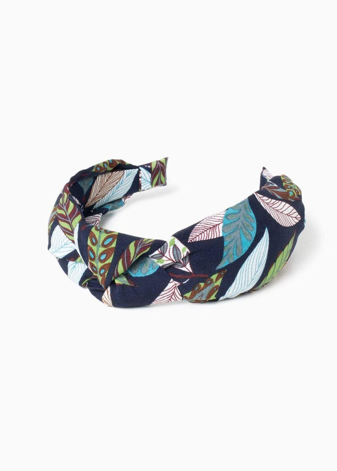 Look by M Hair Accessory Knotted Garden Leaves Headband