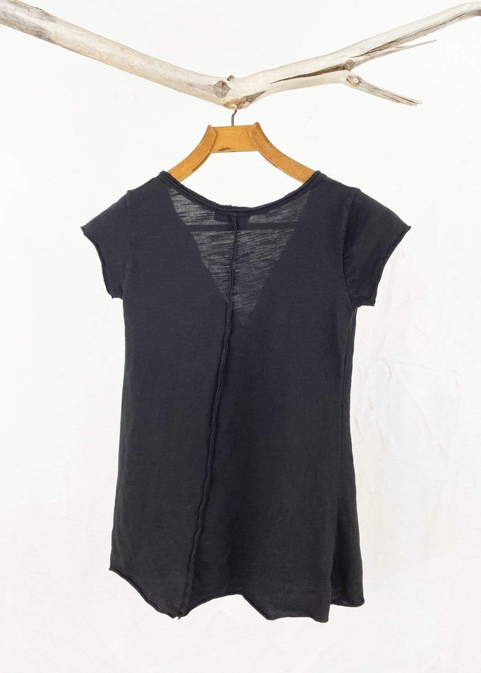 Saga top Saga Cotton Henley Tee