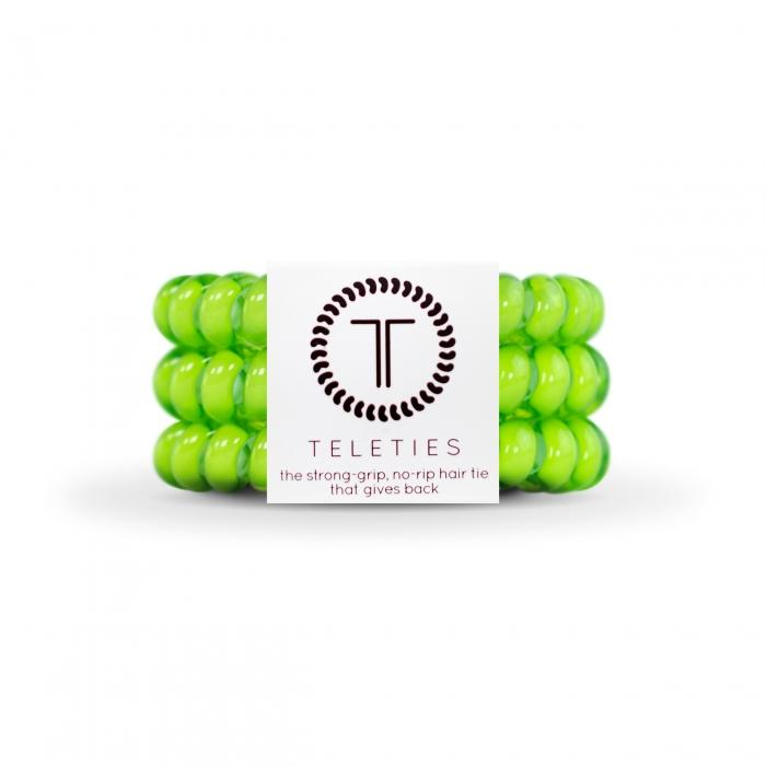 Teleties Hair Accessory Lime Set of Three Large Teleties - More Colors!
