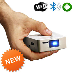 Mini Portable Projector Bluetooth Wifi Android Home Cinema