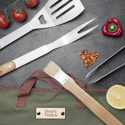 Personalised BBQ Tools Set - AzanatekSaver