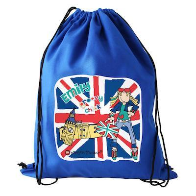 Personalised Bang On The Door London Chick Swim & Kit Bag - AzanatekSaver