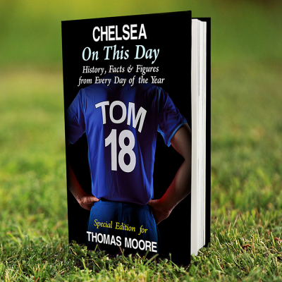 Personalised Chelsea on this Day Book - AzanatekSaver