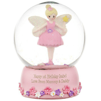 Personalised Fairy Any Name Snow Globe - AzanatekSaver
