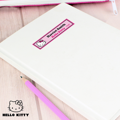 Personalised Hello Kitty Bow Stickers - AzanatekSaver
