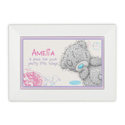 Personalised Me To You Girls Jewellery Box - AzanatekSaver