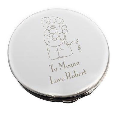 Personalised Me to You Flower Compact Mirror - AzanatekSaver