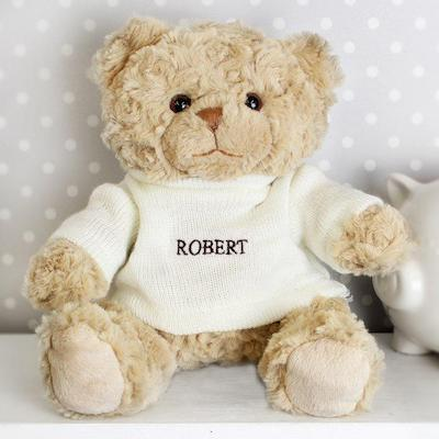 Personalised Name Only Teddy Bear - AzanatekSaver