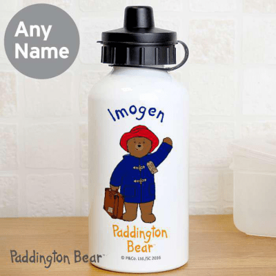 Personalised Paddington Bear Drink Bottle - AzanatekSaver