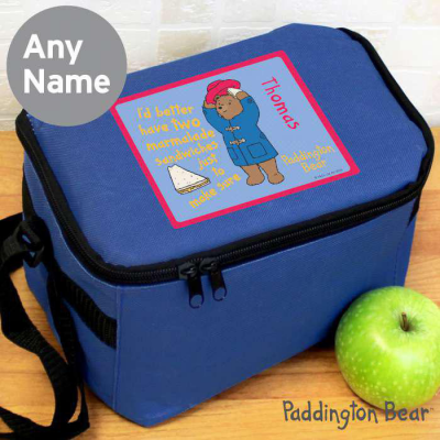 Personalised Paddington Bear Lunch Bag - AzanatekSaver