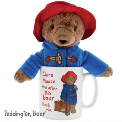 Personalised Paddington Mug with Paddington Bear - AzanatekSaver