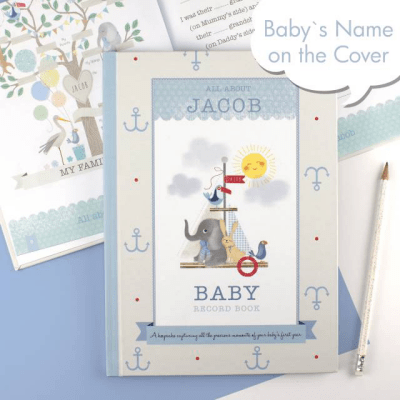 Baby Record Book for a Boy - AzanatekSaver