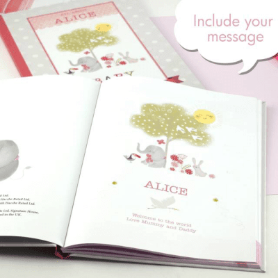 Baby Record Book for a Girl - AzanatekSaver