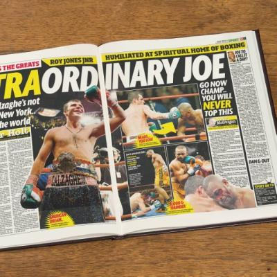 Boxing Newspaper Book - AzanatekSaver