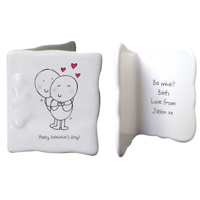 Chilli & Bubbles Valentines message card - AzanatekSaver