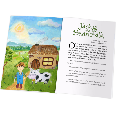 Jack and the Beanstalk Book Hardback or Softback