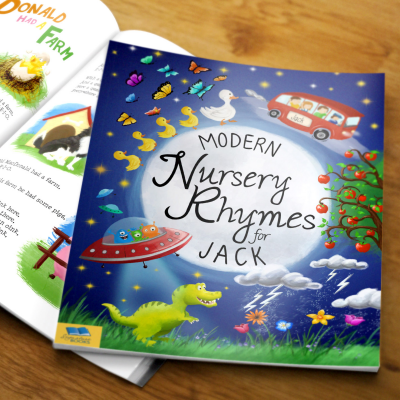 Modern Nursery Rhymes - Hardback or Softback - AzanatekSaver