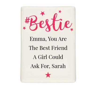 Personalised #Bestie Fridge Magnet - AzanatekSaver
