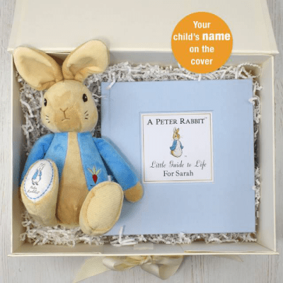 Peter Rabbit Guide to Life Plush Toy Giftset - AzanatekSaver