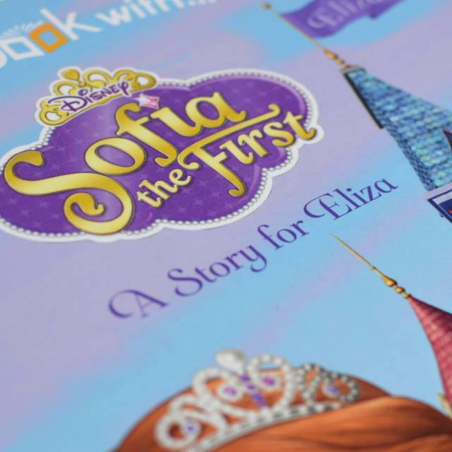 Sofia the First Hardback or Softback - AzanatekSaver