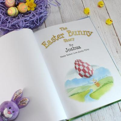 The Easter Bunny - Hardback or Softback - AzanatekSaver