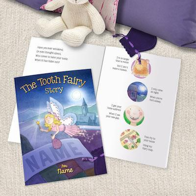 Tooth Fairy Story Book Hardback or Softback - AzanatekSaver