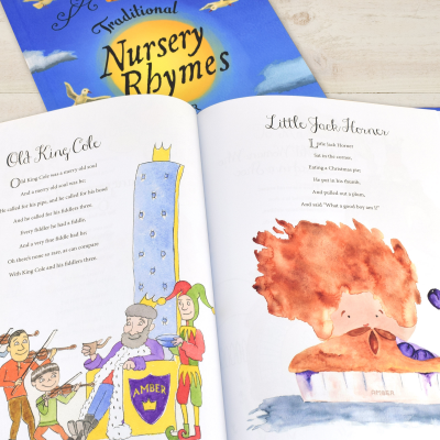 Traditional Nursery Rhymes - Hardback or Softback - AzanatekSaver