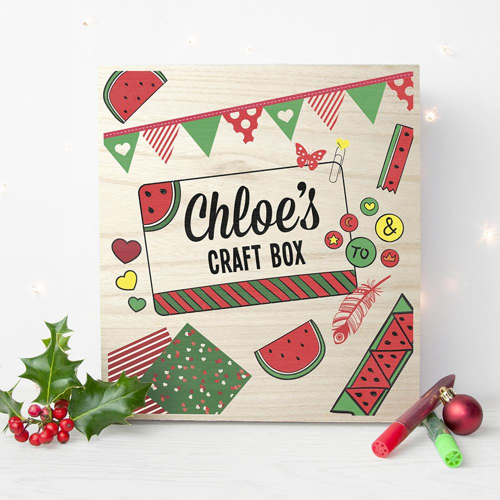 Personalised Watermelon Craft Box - AzanatekSaver