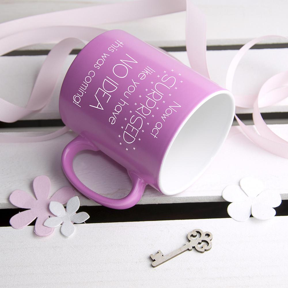 The Unsurprising Surprise Bridesmaid Proposal Mug