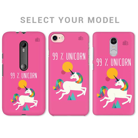 99% unicorn Phone Cover