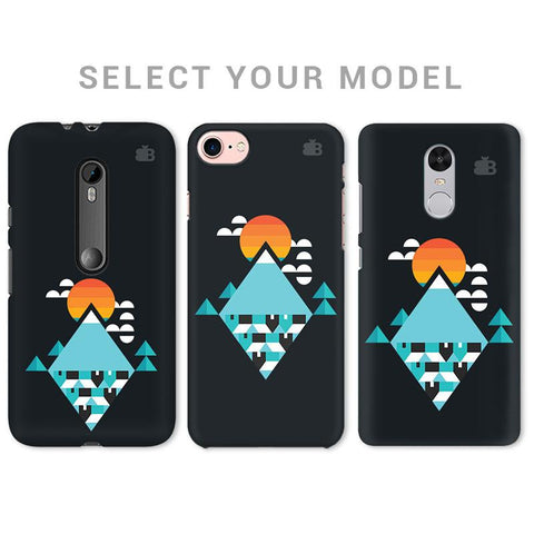 Abstract Mountains Phone Cover