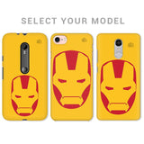Angry Superhero Mask Phone Cover