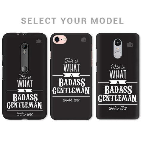 Badass Gentleman Phone Cover