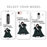 Badass Jon Snow Phone Cover