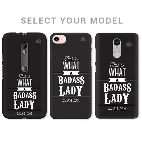 Badass Lady Phone Cover