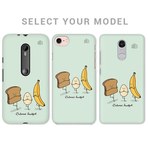 Balanced Breakfast Phone Cover