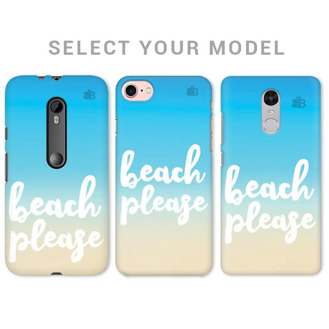 Beach Please Phone Cover