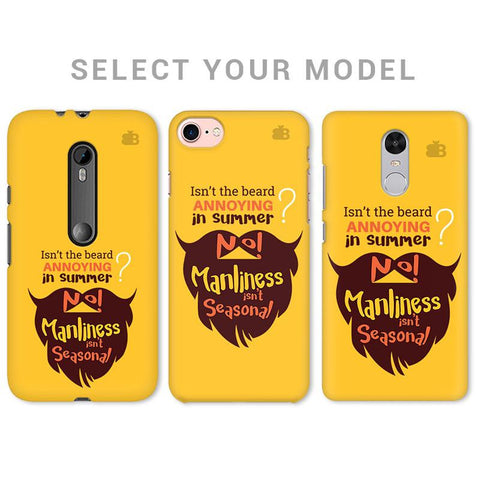 Beard Brown Phone Cover