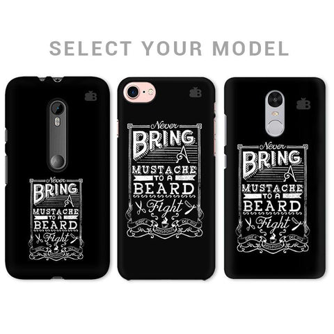 Beard Fight Phone Cover