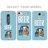 Beer Charged Phone Cover