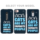 Cats favorite People Phone Cover