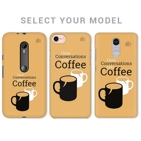 Convos over Coffee Phone Cover