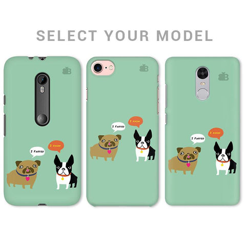 Cute Dog Buddies Phone Cover